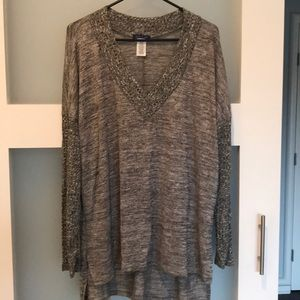 Gorgeous Sweet Claire tunic, large, nwot
